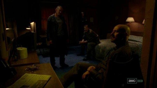 Imagen de Walter White en el episodio 5x08 de 'Breaking Bad'