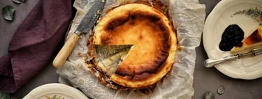 Cómo hacer la famosa tarta de queso de La Viña, receta tradicional (y también con Magimix Cook Expert)