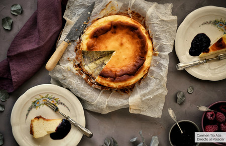 Cómo hacer la famosa tarta de queso de La Viña, receta tradicional