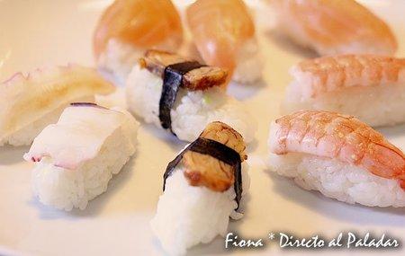 Cómo hacer nigiri-sushi