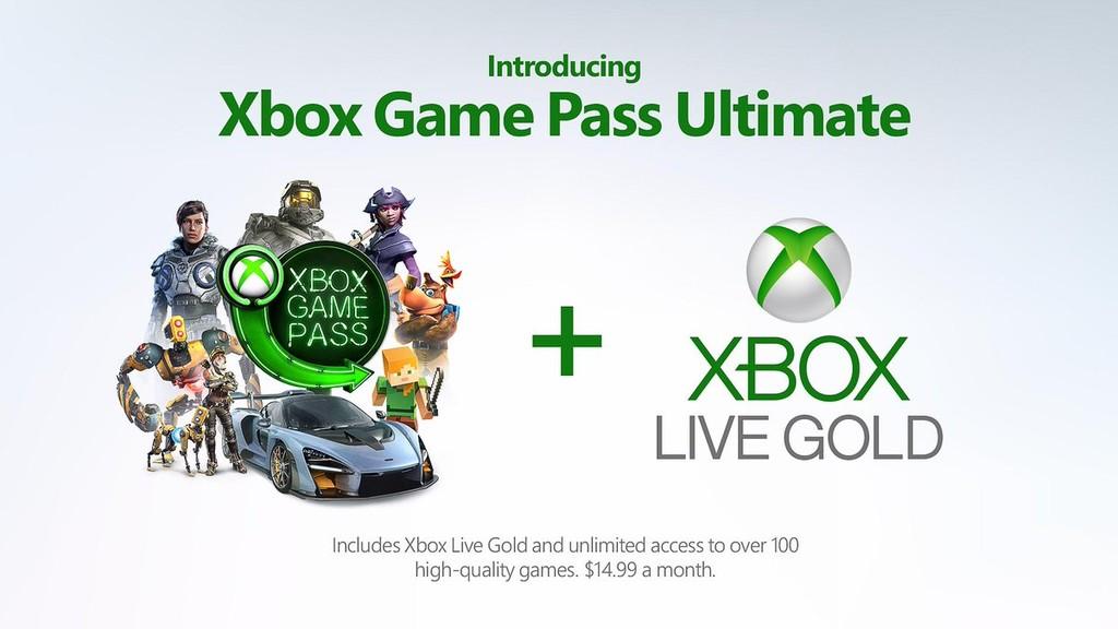 Xbox Game Pass Ultimate: la suscripción definitiva de Microsoft combina Xbox Live Gold y Game Pass por 14,99 dólares al mes