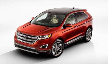 Esta primavera tendremos Ford Edge en España y en un par de años dos SUV más