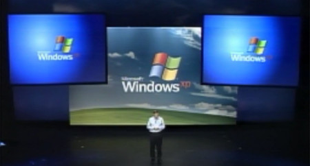Presentación de Windows XP en PDC 2001