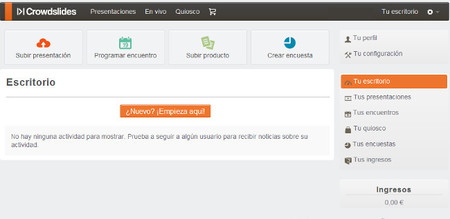 Crowdslides, un servicio para convertir tus presentaciones en interactivas