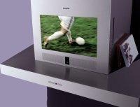 Campana extractora con televisión integrada
