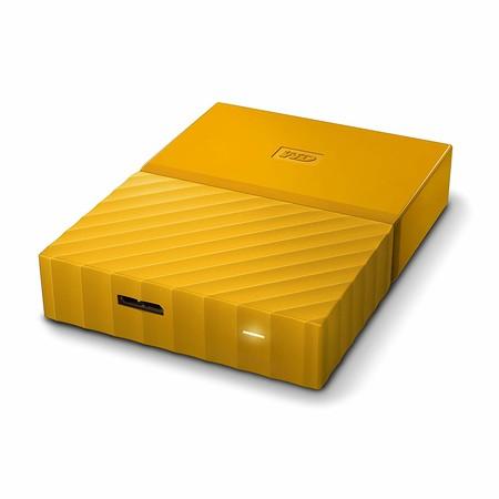 Disco duro portátil WD My Passport, con 2TB de capacidad, por 72,99 euros y envío gratis en Amazon