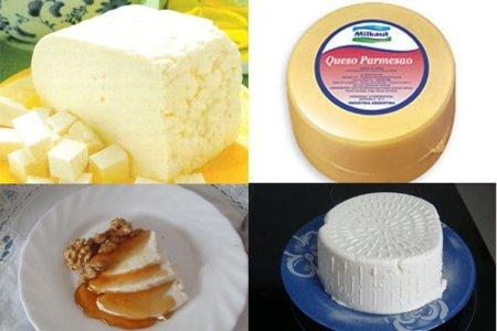 Adivina adivinanza; ¿qué tipo de queso es el que menos grasa tiene?