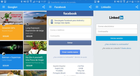 Fast mete todas tus redes sociales en un mismo sitio, para que no necesites mil aplicaciones
