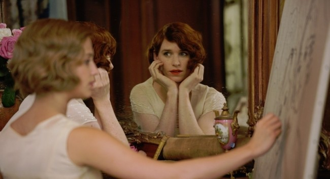 Eddie Redmayne y Alicia Vikander en The Danish Girl
