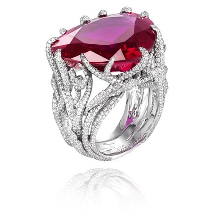 Anillo Chopard de 40.60 kilates