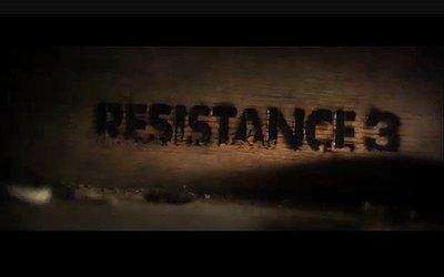 'Resistance 3' confirmado y vídeo [GamesCom 2010]