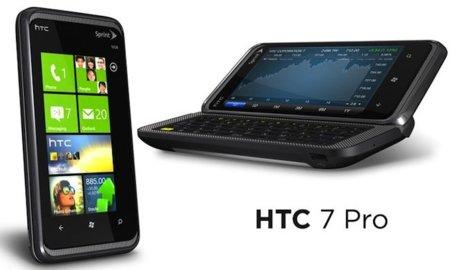 HTC 7 Pro con Windows Phone 7, en 2011