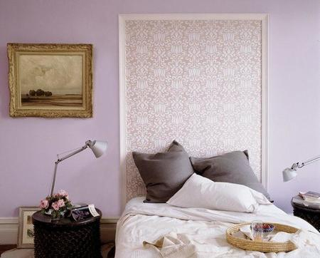 Un cabecero diferente, empieza el año redecorando el dormitorio