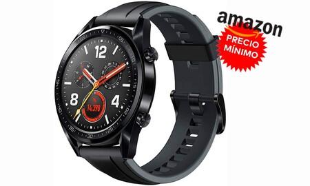 De locura: este Huawei Watch GT Sport nunca había estado tan rebajado en Amazon. Como adelanto al Black Friday lo tienes por sólo 69 euros