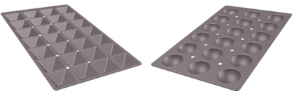 Gastronorm, nuevos moldes de silicona para el sector de la hostelería y la restauración