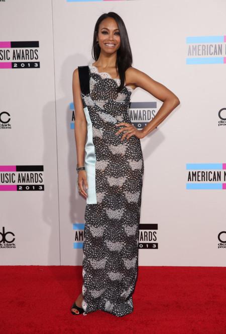 Zoe Saldana American Music Awards