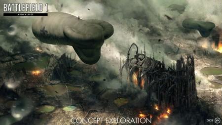 Battlefield 1 celebra con un demoledor tráiler la llegada de su última expansión, Apocalypse