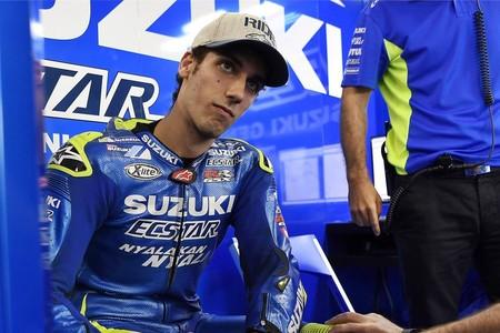 Dislocación y fractura de muñeca derecha para Álex Rins, baja del GP de las Américas y duda para Jerez