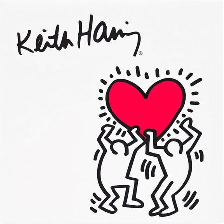 El amor visto por Keith Haring, Pop Art en estado puro para San Valentin