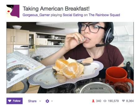 Comiendo naranjas en Twitch