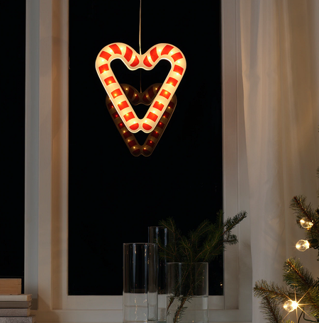 Lámpara bastón de caramelo IKEA