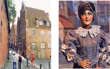 Museo de títeres y marionetas en Alemania