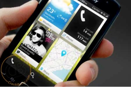 Primeras imágenes de la interfaz de BlackBerry 10