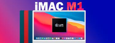 """El elegante y potente iMac (2021) M1 de 24"""" está rebajado en Amazon a 1.349 euros, su precio mínimo histórico"""