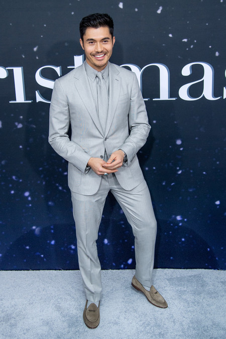 Henry Golding Last Christmas Movie Premiere Red Carpet 2019 03
