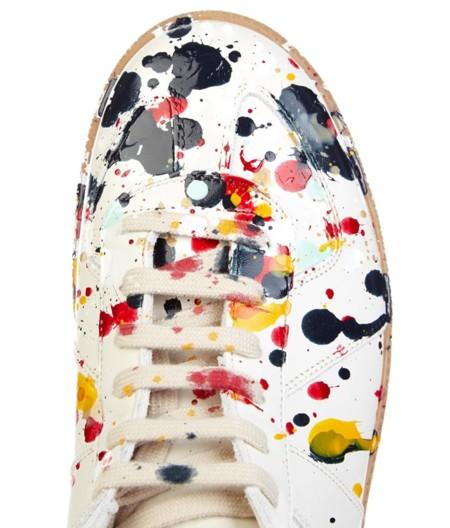 El efecto Pollock en las sneakers de la Maison Martin Margiela
