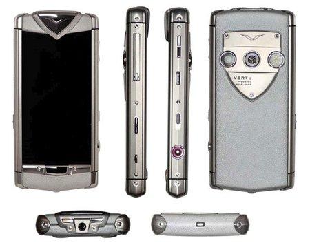 Vertu Constellation T, el primer smartphone de la firma con pantalla táctil
