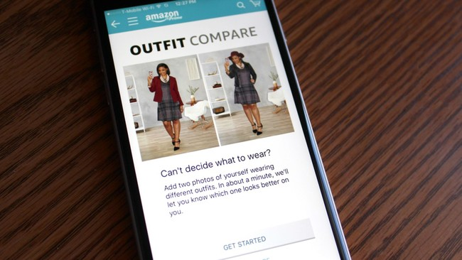 Amazon Outfit Compare