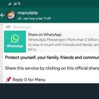 Cómo contrastar bulos en WhatsApp con la nueva opción de búsqueda