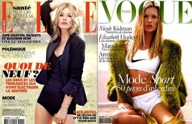 Kate Moss portadas
