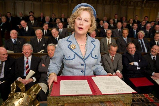 Meryl Streep es Margaret Thatcher en 'La dama de hierro'