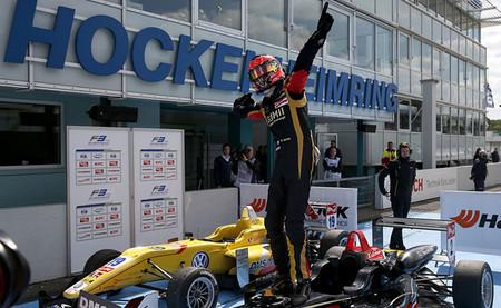 Esteban Ocon dicta el tempo del FIA European Fórmula 3 en Hockenheim