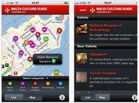 Aplicaciones viajeras para el iPhone: Guía Cultural de Malta