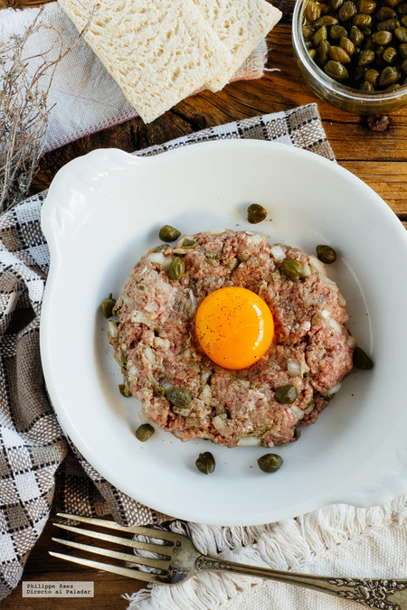 Receta de Steak Tartare