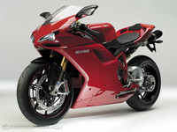 Ducati 1098, motor Testaestretta Evoluzione y chasis