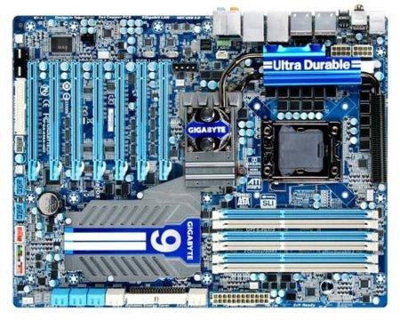 Gigabyte hace oficial la GA-X58A-UD9, su placa base con siete PCIe
