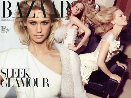 january jones harpers bazaar
