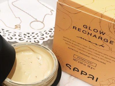 Descubriendo Sepai: probamos la mascarilla Glow Recharge para una piel luminosa y recargada