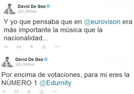 De Gea Eurovision