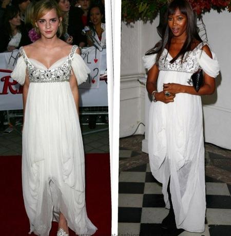 Cuestión de Estilo: Emma Watson Vs Naomi Campbell