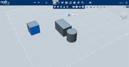 Autodesk 123D Design, modelado 3D multiplataforma, gratuito y en la nube