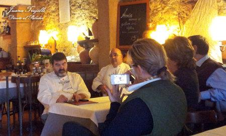 Presentación de los restaurantes Km 0 2012 de Tarragona