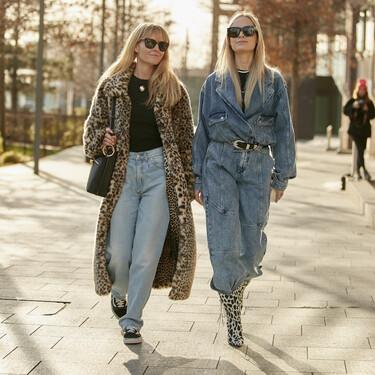 El street style nos enseña qué estilo de vaqueros serán tendencia esta otoño 2020 y hay uno perfecto para cada tipo de cuerpo