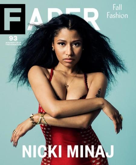 Nicki Minaj, reina y señora de Fader