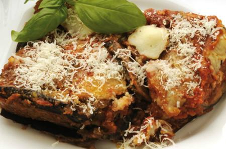 Berenjenas a la italiana con All-Bran® Flakes