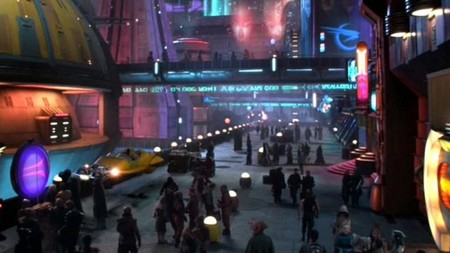 Star Wars Attack Of The Clones Coruscant Lucasfilm Disney